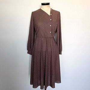 Vintage Early 1980s Dress